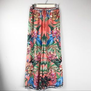 FLYING TOMATO palazzo floral pants